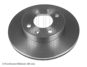 Вентилируемый передний тормозной диск на Киа Пиканто BLUE PRINT ADG04397.