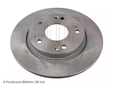 Задний тормозной диск на HONDA CR-Z 'BLUE PRINT ADH243120'.