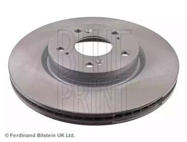 Вентилируемый передний тормозной диск на HONDA HR-V 'BLUE PRINT ADH243122'.