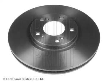 Вентилируемый передний тормозной диск на HONDA S2000 'BLUE PRINT ADH24359'.