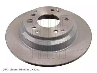 Задний тормозной диск на Хонда Легенд 'BLUE PRINT ADH24360'.