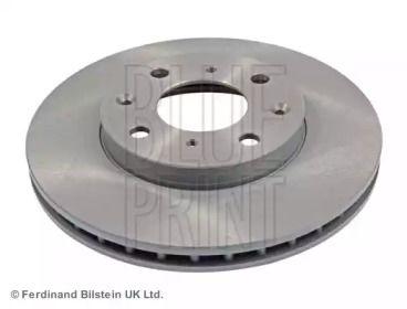 Вентилируемый передний тормозной диск на Хонда Джаз 'BLUE PRINT ADH24375'.