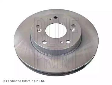 Вентилируемый передний тормозной диск на HONDA CR-Z 'BLUE PRINT ADH24390'.