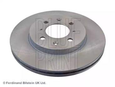 Вентилируемый передний тормозной диск на HONDA JAZZ 'BLUE PRINT ADH24392'.