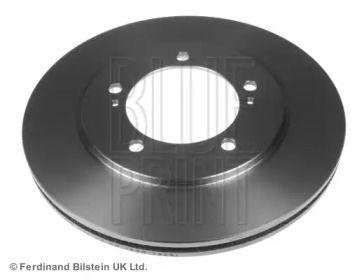 Вентилируемый передний тормозной диск на Сузуки Гранд Витара 'BLUE PRINT ADK84312'.