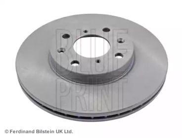Вентилируемый передний тормозной диск на OPEL AGILA 'BLUE PRINT ADK84321'.