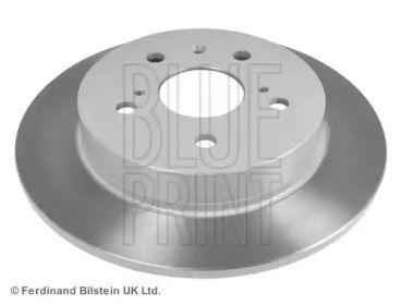 Задний тормозной диск на FIAT SEDICI 'BLUE PRINT ADK84335'.