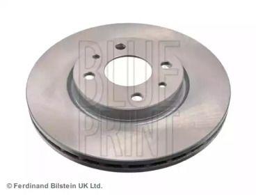 Вентилируемый передний тормозной диск на ALFA ROMEO MITO 'BLUE PRINT ADL144306'.