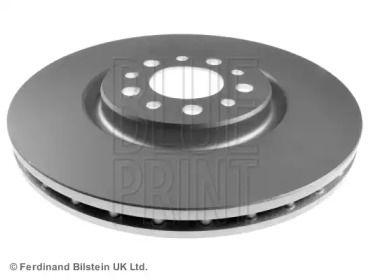 Вентилируемый передний тормозной диск на CHRYSLER 200 'BLUE PRINT ADL144316'.