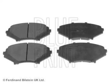 Переднї гальмівні колодки на Мазда РХ8 'BLUE PRINT ADM54283'.