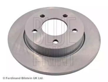 Задний тормозной диск на Мазда 5 'BLUE PRINT ADM543115'.