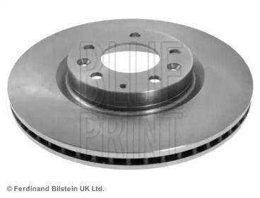Вентилируемый передний тормозной диск 'BLUE PRINT ADM543118'.