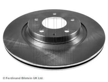 Вентильований задній гальмівний диск на Мазда РХ8 BLUE PRINT ADM543121.