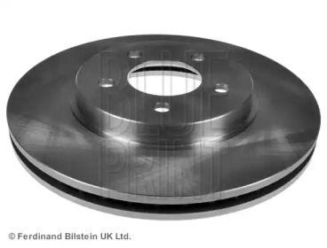 Вентилируемый передний тормозной диск на MAZDA TRIBUTE 'BLUE PRINT ADM543122'.
