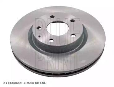 Вентилируемый передний тормозной диск на Мазда СХ3 'BLUE PRINT ADM543130'.