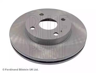 Вентилируемый передний тормозной диск на Мазда 323 'BLUE PRINT ADM54364'.