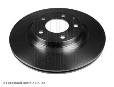 Вентильований задній гальмівний диск на Мазда РХ8 BLUE PRINT ADM54376.