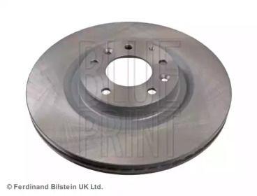 Вентильований передній гальмівний диск на MAZDA RX-8 BLUE PRINT ADM54378.