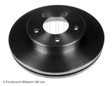 Вентильований передній гальмівний диск на Мазда МПВ BLUE PRINT ADM54387.
