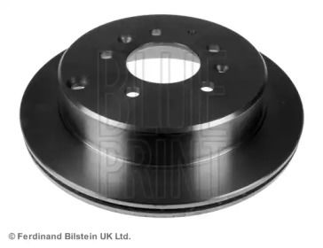 Вентильований задній гальмівний диск на Мазда МПВ BLUE PRINT ADM54395.
