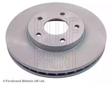Вентилируемый передний тормозной диск на NISSAN MAXIMA 'BLUE PRINT ADN143101'.