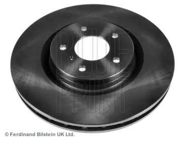 Вентилируемый передний тормозной диск на Ниссан 350З 'BLUE PRINT ADN143109'.