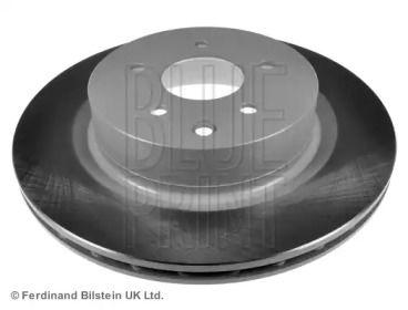 Вентилируемый задний тормозной диск на NISSAN 350Z 'BLUE PRINT ADN143110'.