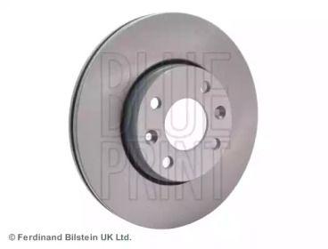 Вентилируемый передний тормозной диск на Рено Модус 'BLUE PRINT ADN143112'.