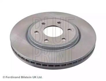 Вентилируемый передний тормозной диск на Ниссан Навара 'BLUE PRINT ADN143126'.