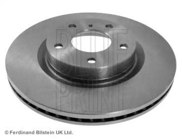 Вентилируемый передний тормозной диск на NISSAN 350Z 'BLUE PRINT ADN143142'.