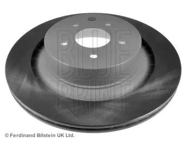 Вентилируемый задний тормозной диск на Ниссан 370З 'BLUE PRINT ADN143158'.