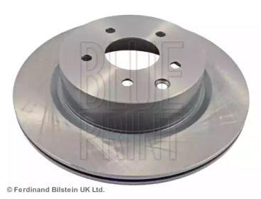 Вентилируемый задний тормозной диск на Ниссан Скайлайн 'BLUE PRINT ADN143159'.