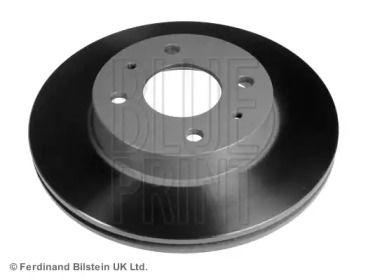 Вентилируемый передний тормозной диск на Ниссан Альмера 'BLUE PRINT ADN14373'.