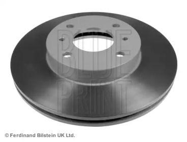 Вентилируемый передний тормозной диск на Ниссан 100Сх 'BLUE PRINT ADN14379'.