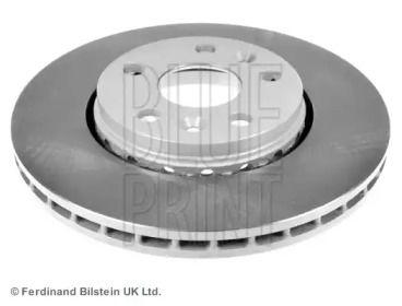 Вентилируемый передний тормозной диск на MERCEDES-BENZ CITAN 'BLUE PRINT ADR164306'.