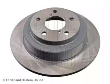 Задний тормозной диск на Субару Легаси 'BLUE PRINT ADS74307'.