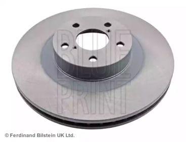 Вентилируемый передний тормозной диск на SUBARU XV 'BLUE PRINT ADS74318'.
