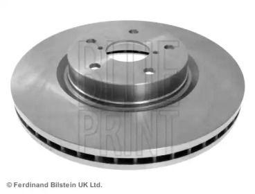 Вентилируемый передний тормозной диск на SUBARU TRIBECA 'BLUE PRINT ADS74336'.