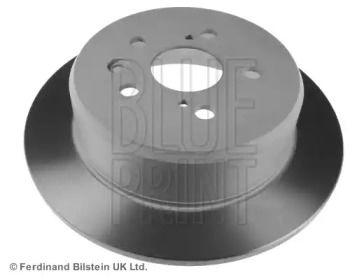 Задний тормозной диск на TOYOTA CALDINA 'BLUE PRINT ADT343104'.