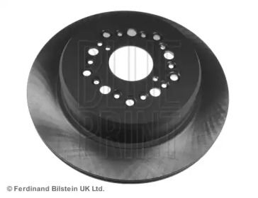 Вентилируемый задний тормозной диск на TOYOTA SOARER 'BLUE PRINT ADT343105'.