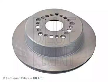 Вентилируемый задний тормозной диск на Тайота Сенчури 'BLUE PRINT ADT343111'.