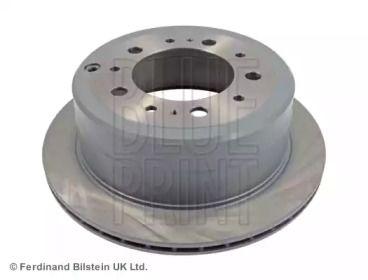 Вентилируемый задний тормозной диск на LEXUS LX 'BLUE PRINT ADT343119'.