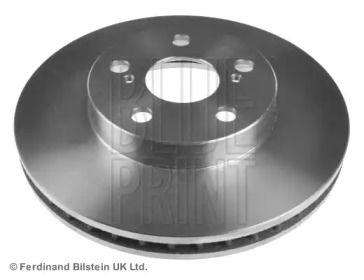 Вентилируемый передний тормозной диск на LEXUS CT 'BLUE PRINT ADT343135'.