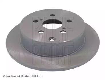Задний тормозной диск на TOYOTA CALDINA 'BLUE PRINT ADT343145'.