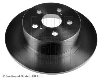 Задний тормозной диск на Тайота Авенсис 'BLUE PRINT ADT343162'.