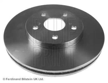 Вентилируемый передний тормозной диск на Тайота Альфард 'BLUE PRINT ADT343172'.
