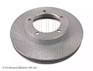 Вентилируемый передний тормозной диск на Лексус ЛХ 'BLUE PRINT ADT343190'.