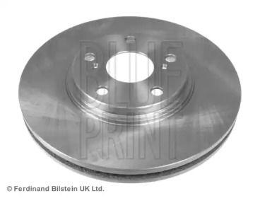 Вентилируемый передний тормозной диск на Тайота Солара 'BLUE PRINT ADT343204'.