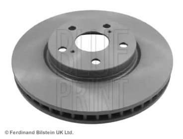 Вентилируемый передний тормозной диск на LEXUS IS 'BLUE PRINT ADT343208'.