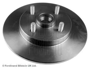 Задний тормозной диск на TOYOTA STARLET 'BLUE PRINT ADT343214'.